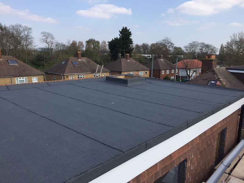 Flat roofers in Essex