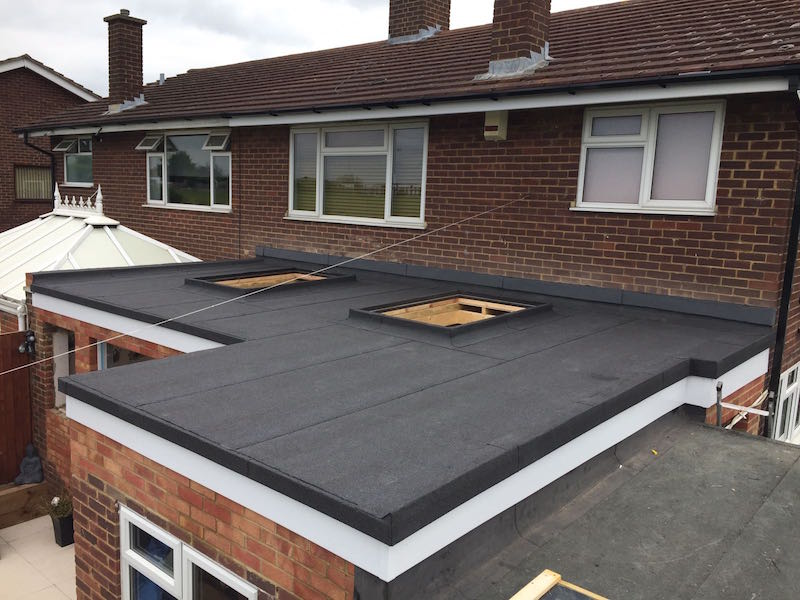 Felt flat roofing company in Essex