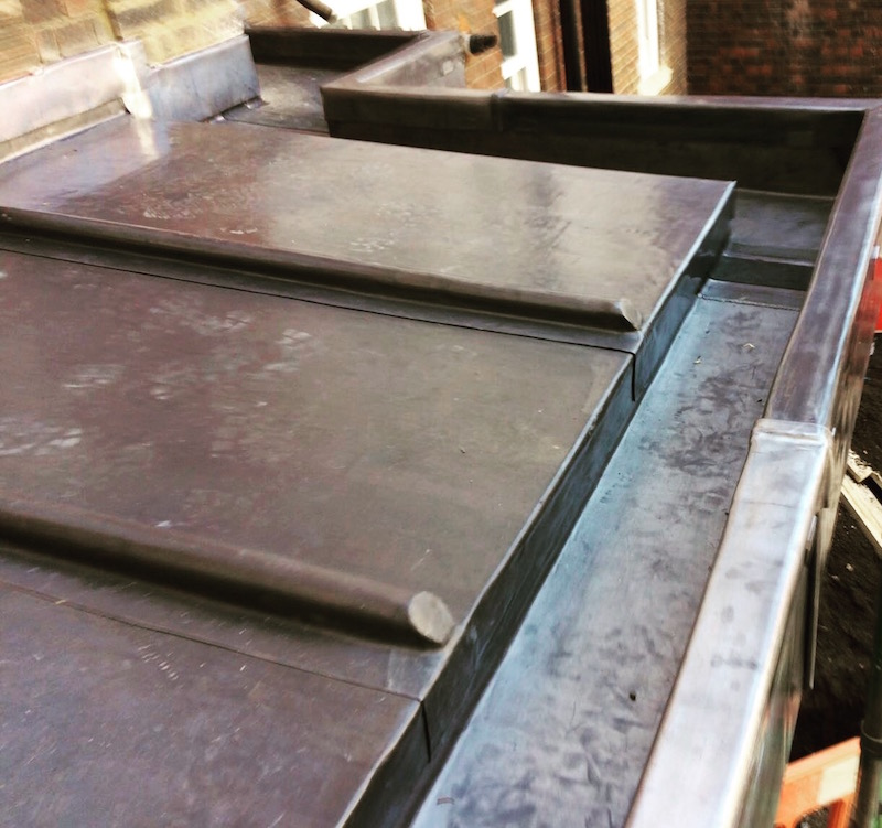 Lead flat roofing company in Essex